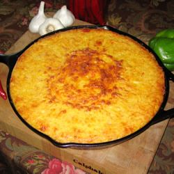 Mexican Style Cornbread Recipe - Made this tonight. Easy and delicious!