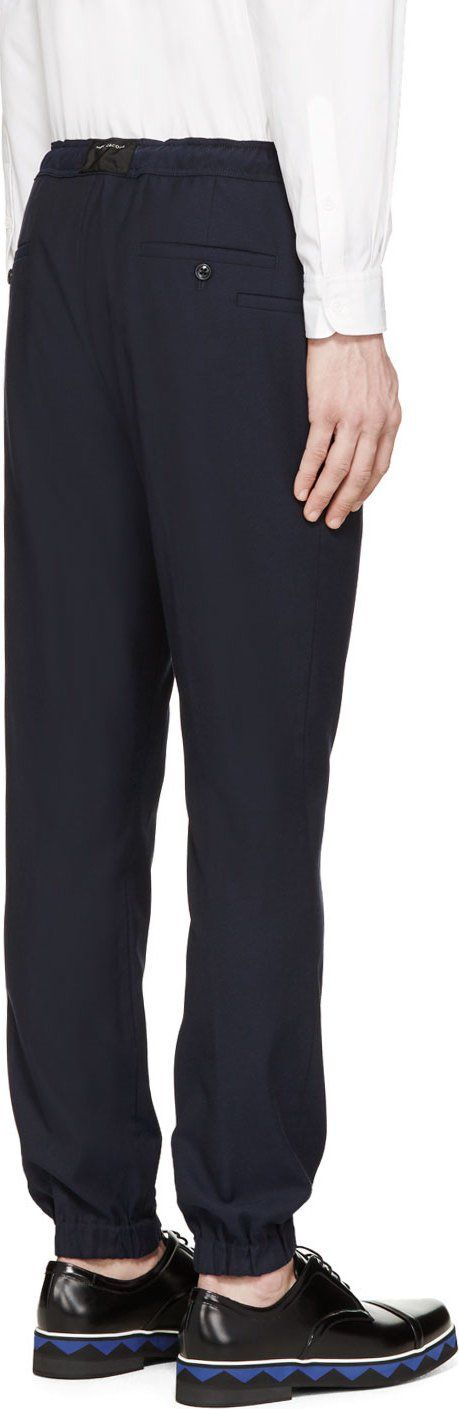 Marc Jacobs Midnight Drawstring Trousers