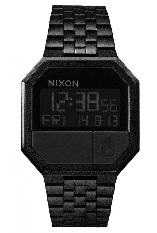 NIXON RE-RUN ALL BLACK