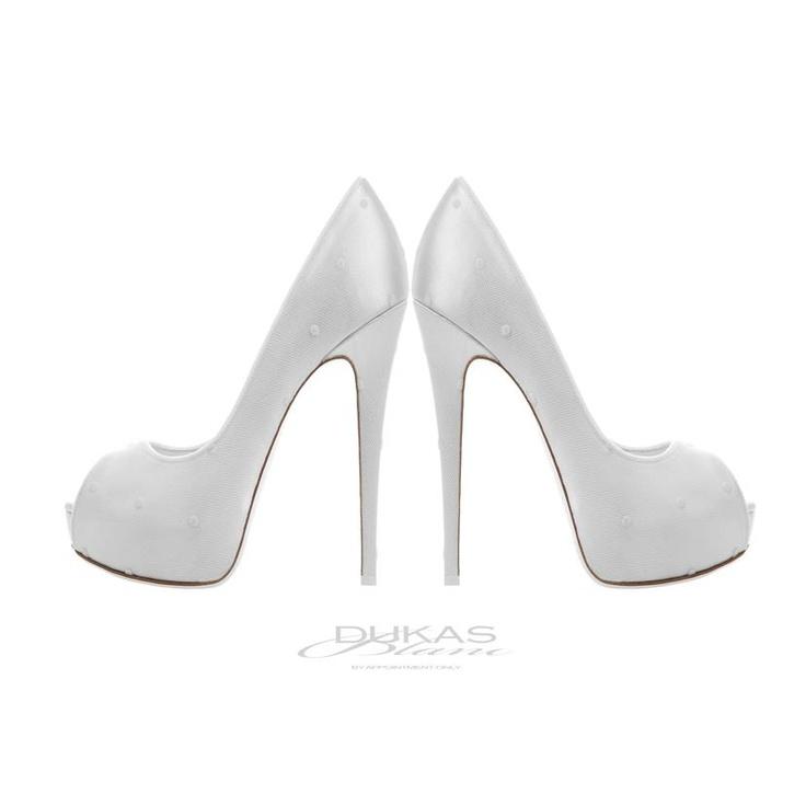 DUKAS BLANC  wedding shoes