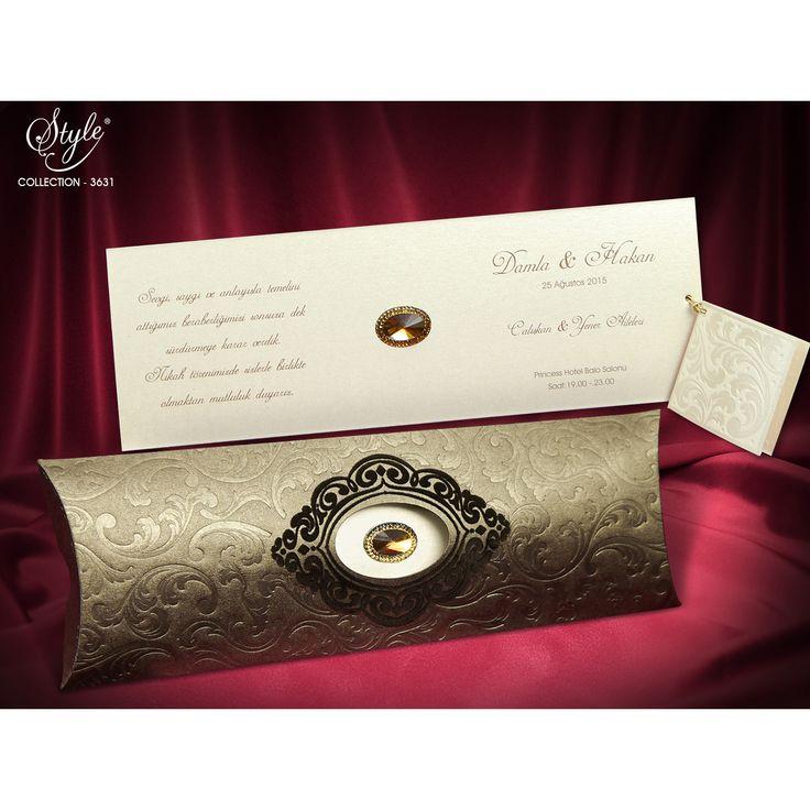 Style Düğün Davetiyesi Modelleri 3631