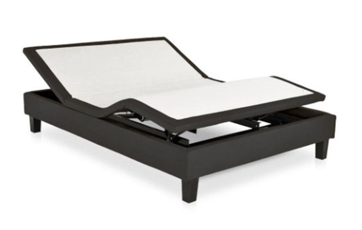 Leggett and Platt - iDealBed Designer iD5 Queen Adjustable Bed Base, Black - iD5-BLK-QUEEN