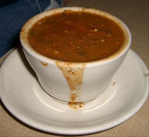 Mock Turtle Soup - the most delicious soup on earth....since Grandma won't live forever I will be forced to attempt to cook this for myself one day....alas I burn mac-n-cheese, so we will see how that goes!!!!