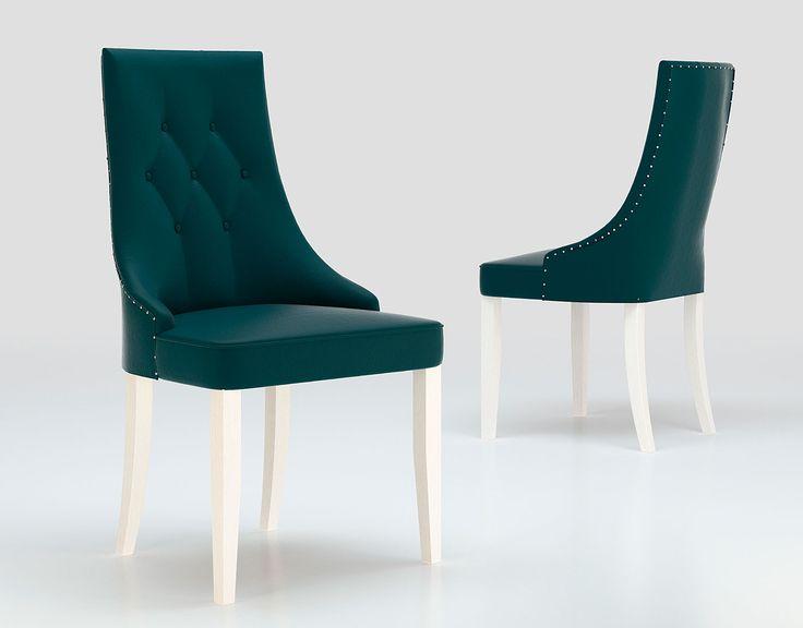 Silla de estilo contemporáneo creado para dar un toque de elegancia a tu salón.