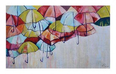Painting On Canvas Umbrellas