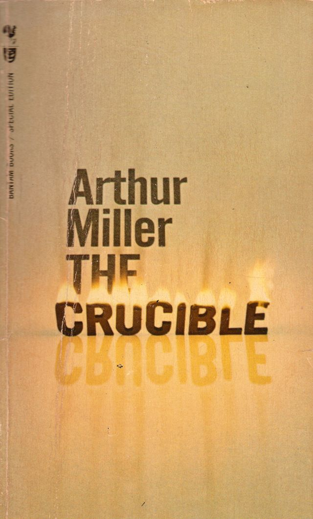 an analysis of the controversy in the crucible a play by arthur miller