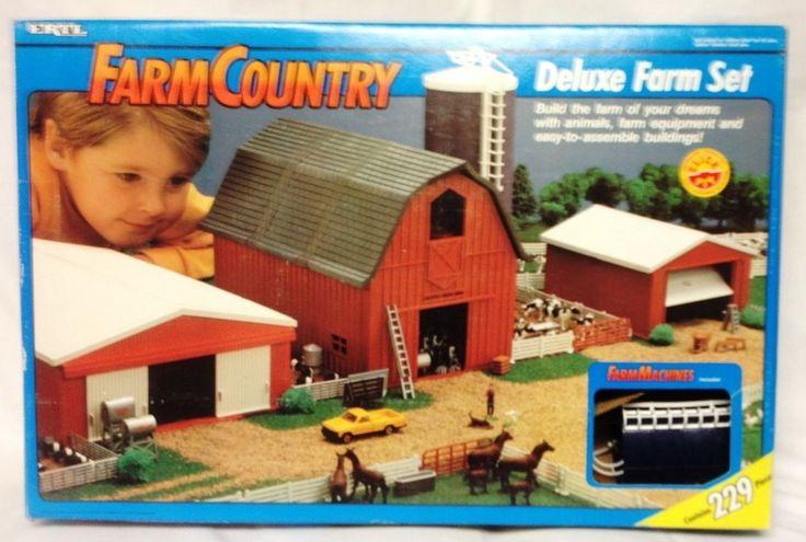 Ertl 1 64th Farm Country Deluxe Farm Set Ertl Ertl Farm