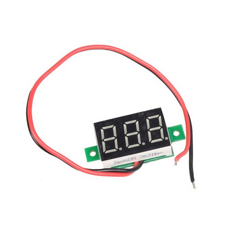 Мини DC 2.5 30 В 1 шт. ЖК дисплей цифровой вольтметр Амперметр voltimetro красный светодиод AMP amperimetro как вольтметр датчик напряжения Измеритель постоянного тока оптовая продажа купить на AliExpress