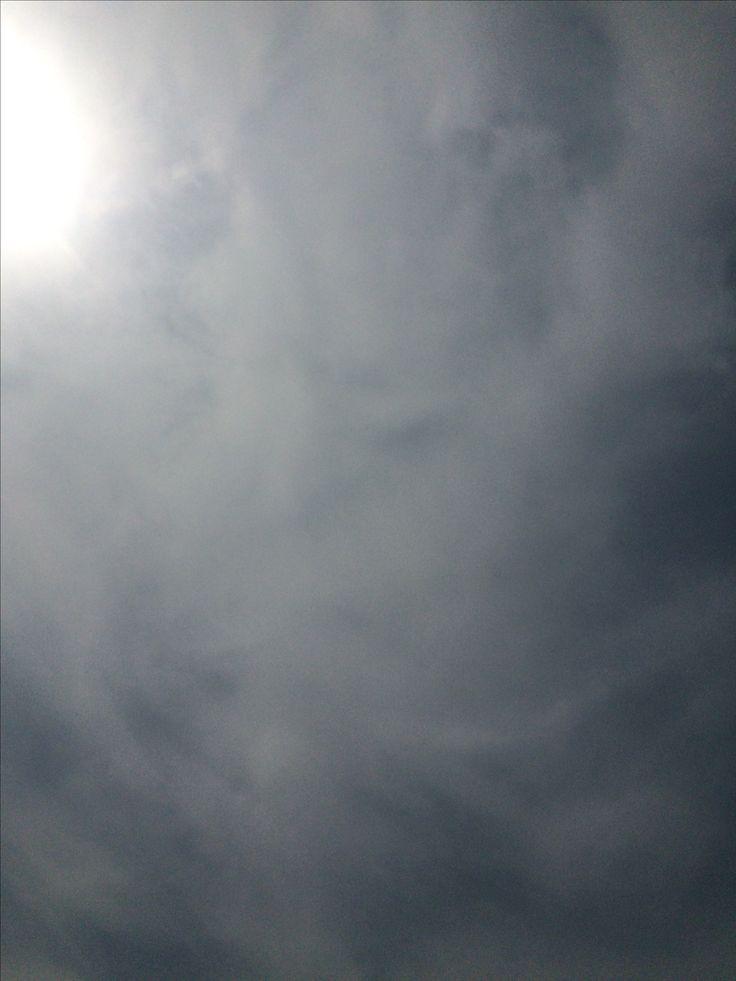 2017년 4월 8일의 하늘 #sky #cloud #sun
