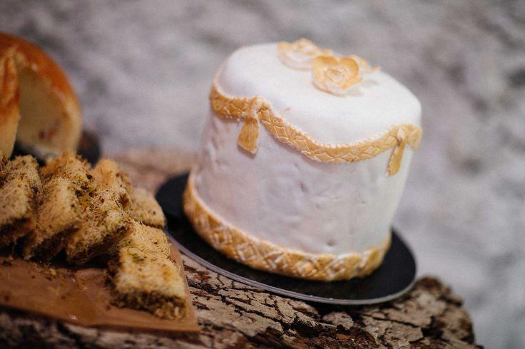 Second wedding cake - chocolate!
