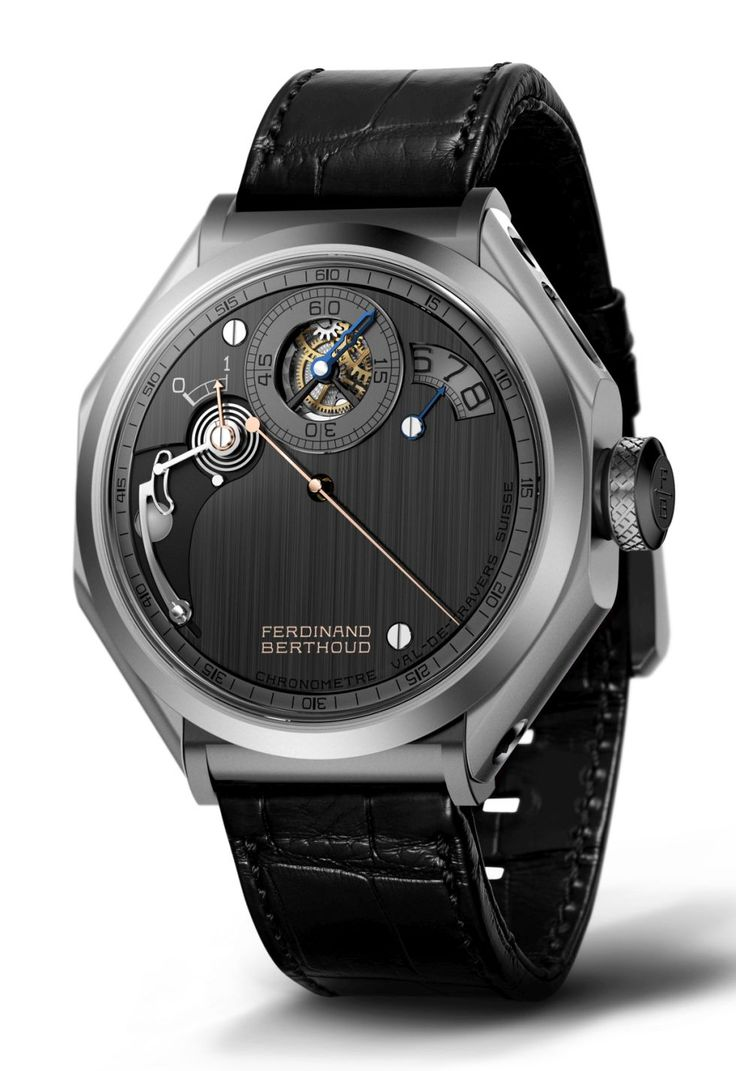 TimeZone : Industry News » SIHH 2018 - Chronometre Ferdinand Berthoud FB 1R.6-1 Regulator