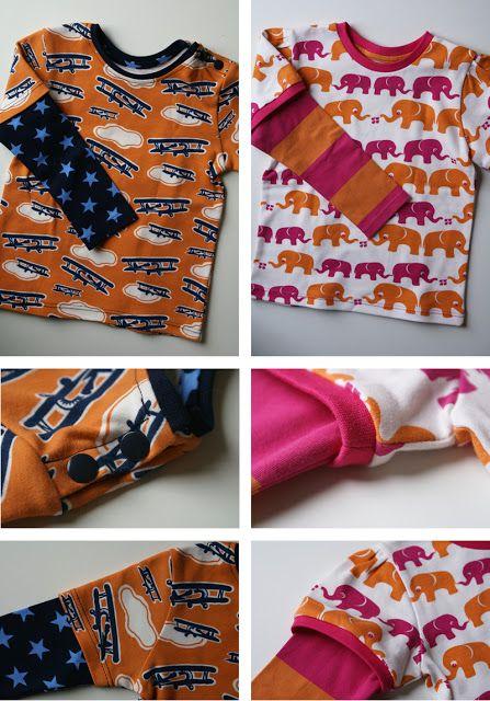 Tutorial um ein Lagenshirt, Shirt im Lagenlook zu nähen ( fb )