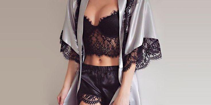 Pijamas que te harán sentir sexy aunque no salgas de casa