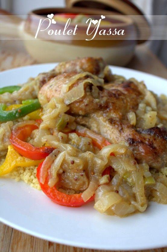 Yassa | poulet yassa, au couscous - Blogs de cuisine