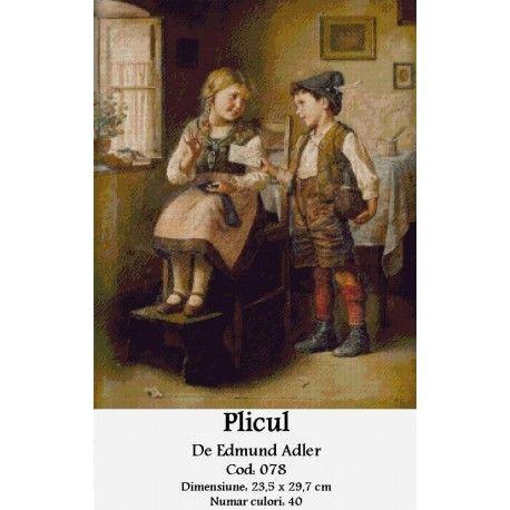 Goblen set de vanzare Plicul de Edmund Adler http://set-goblen.ro/portrete/3727-plicul-de-edmund-adler.html