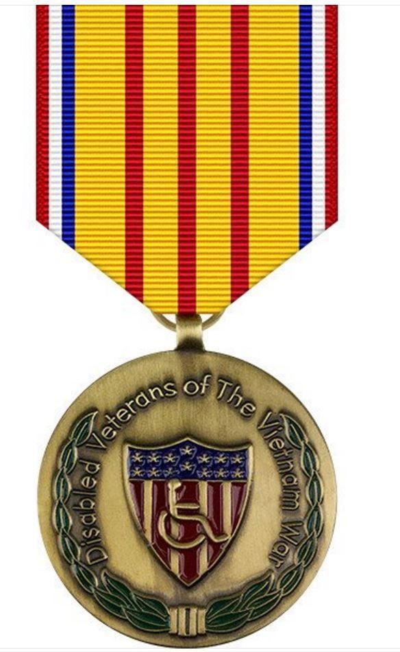 Vietnam War Disabled Veterans Commemorative Medal