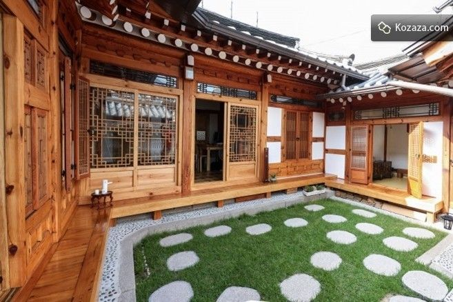 korean hanok house layout - Google Search