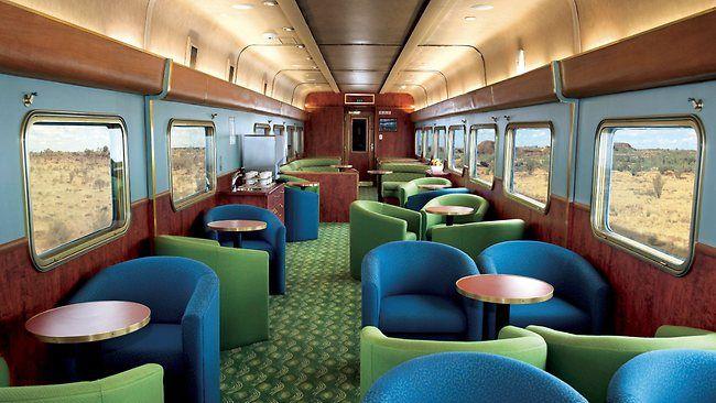 The Ghan Luxury Train,Australia