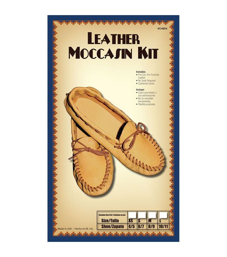 Silver Creek- Leather Kit-Scout Moccasin-Size 12/13