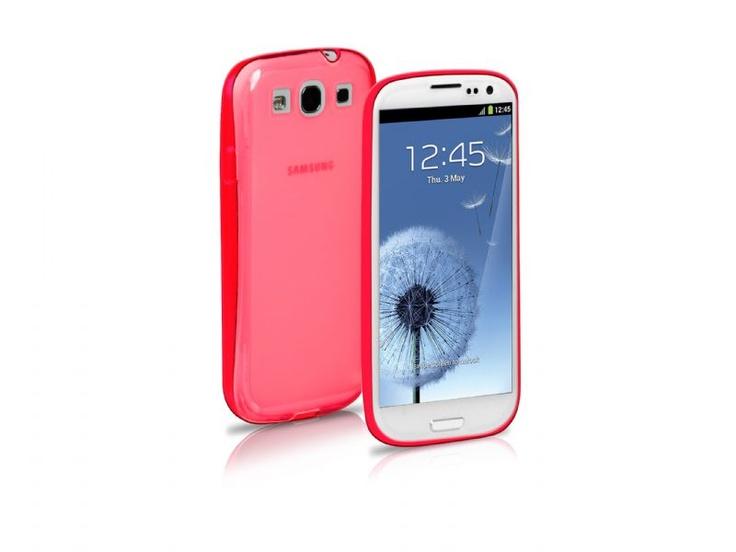 Fluo case in TPU for Samsung Galaxy S III I9300, pink color. http://www.sbs-power.com/smartphone/protections_specific-cases/1800_fluo-case-for-samsung-galaxy-s-iii_TEFLUOSIIIP.html
