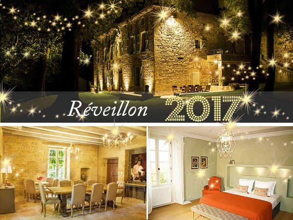 Réveillon de la Saint Sylvestre près de Cahors Les Hauts de Saulies vous propose un forfait incluant la nuitée du 31 décembre, les petits-déjeuners type brunch le 1er Janvier, le repas du Réveillon avec apéritif au champagne et amuse-bouche, vins de Cahors de prestige.  #cahors #reveillon #saintsylvestre #noel