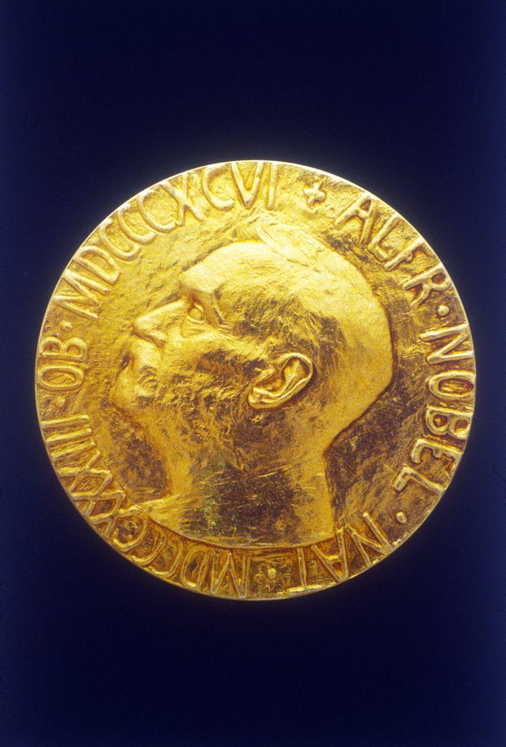 La médaille du prix Nobel de la paix.