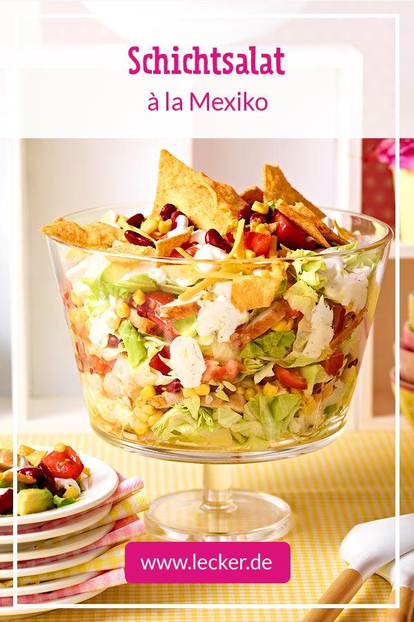 Mexikanischer Schichtsalat – Geburtstag