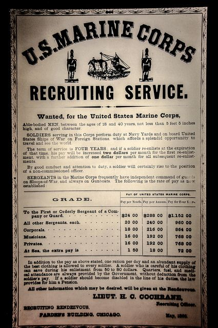 Marine Corps Recruiting Posters