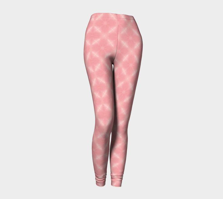 Pink Cross Leggings