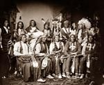 Red Cloud and Indians.