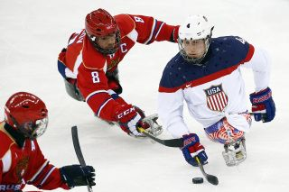 U.S. blanks Russia for Paralympic sledge hockey gold medal (Photo: AP)