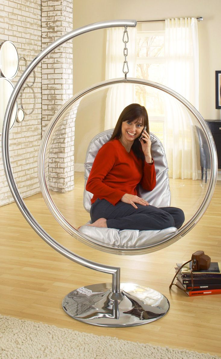 Indoor hanging pod chair - Modern Hanging Chair So Cool