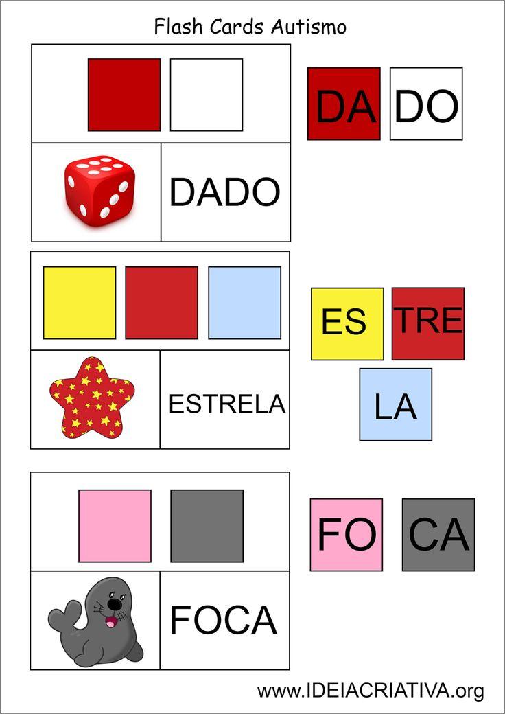 Preferência 185 best Alfabetização: Dislexia e Autismo images on Pinterest TM34