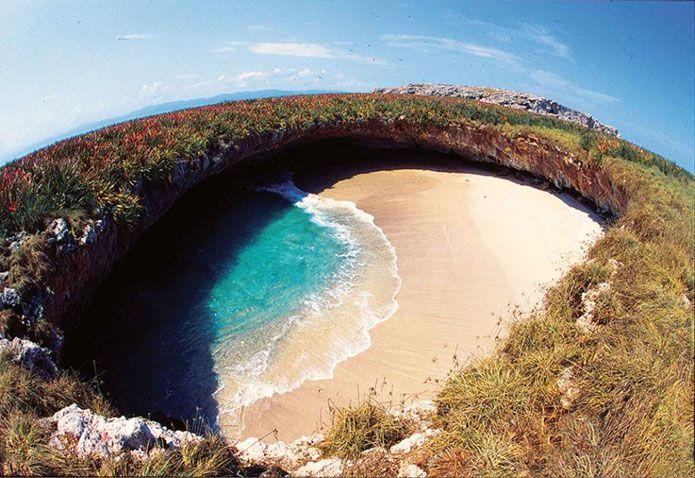 Плайя-дель-Амор — скрытый пляж острова Мариета, Мексика