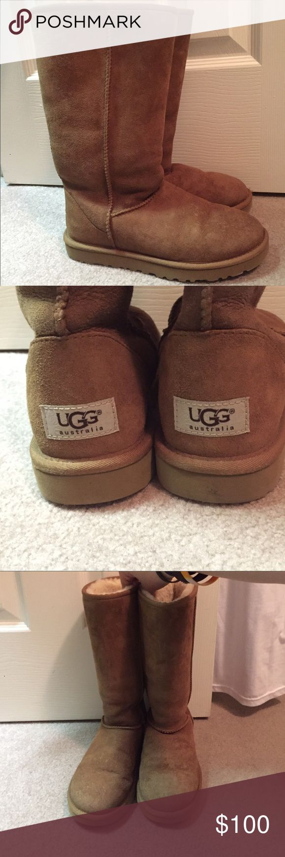 Original UGG BOOTS classic Great condition and tons of life left in them. Only worn a couple times. UGG Shoes Winter & Rain Boots
