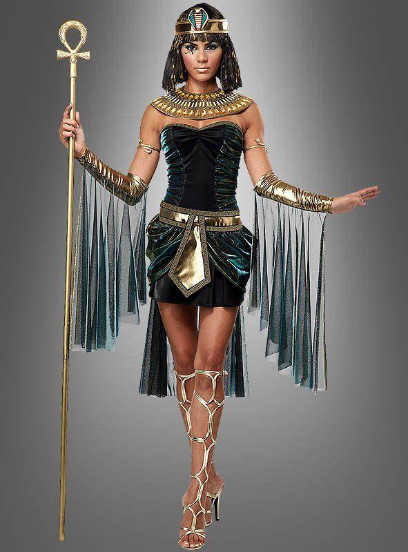 Cleopatra Kostüm sexy Ägyptische Göttin Karnevalskostüm