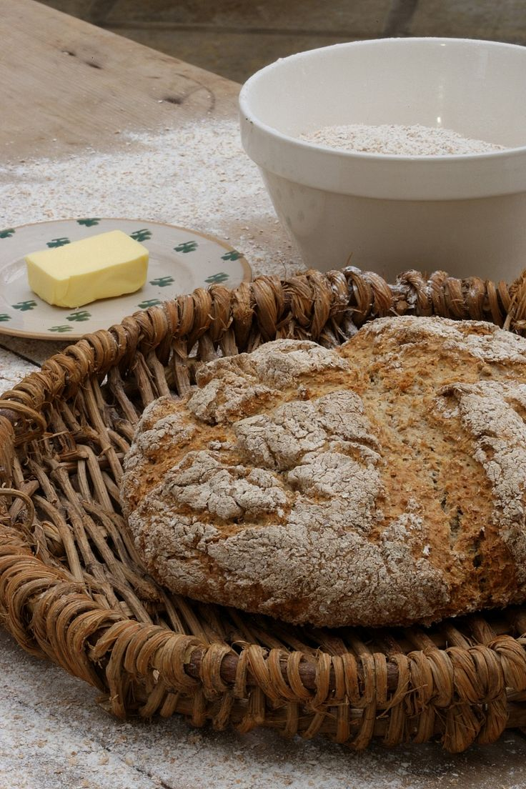 Mummy's Brown Irish Soda Bread | recipe by Darina Allen via Kerrygold USA