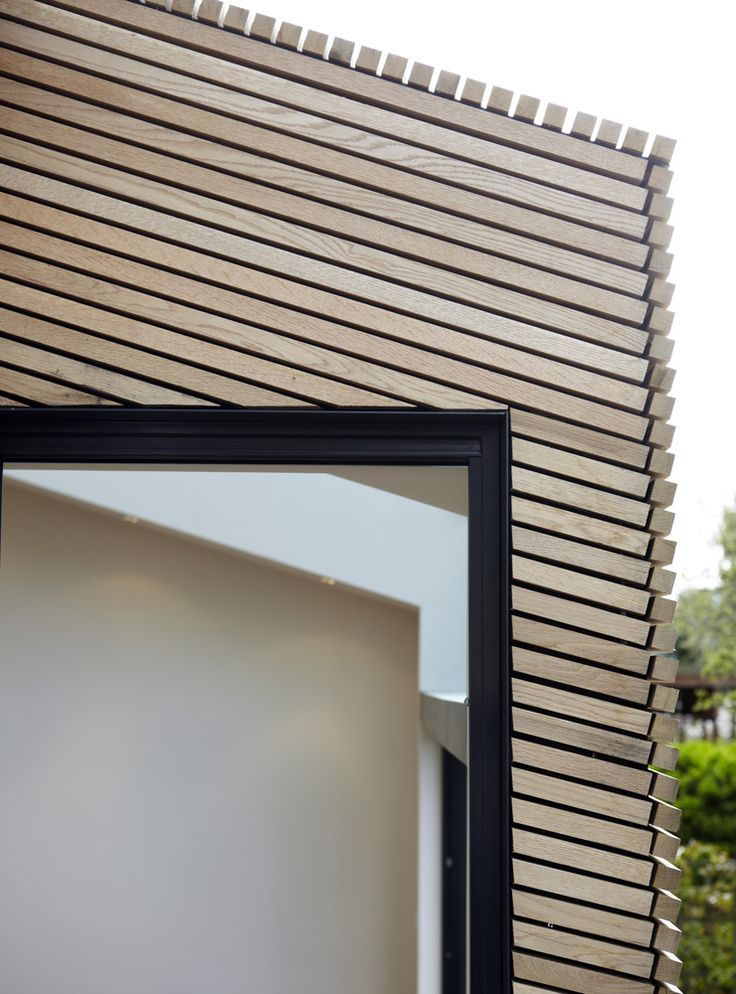 silver birch timber cladding - Google Search