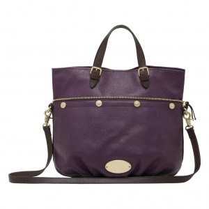 Fashion Mulberry MTB-57 Purple Leather Bags Sale : Mulberry Outlet £150.09
