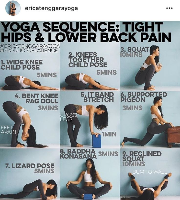 Yoga Sequence Hips Lower Back Pain This Is Targeted To Newbies Those Who Find Sitting On The Floor Challenging In Particular Sit At Desk