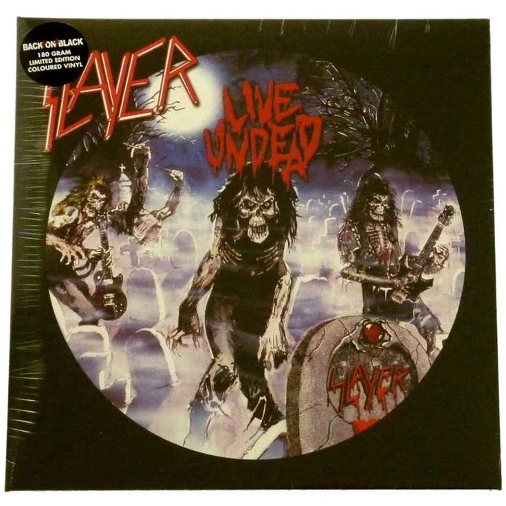 Slayer Live Undead Haunting The Chapel 180g LP Coloured Vinyl Record - 2009