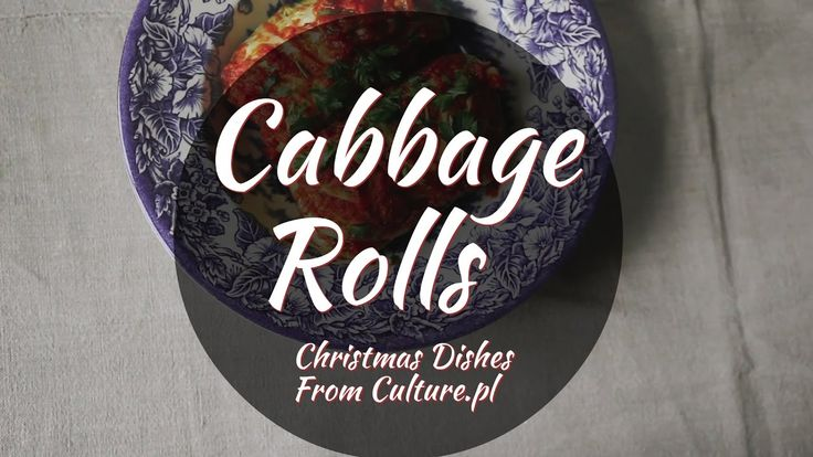 Find all 12 dishes of Polish Christmas here: http://culture.pl/en/article/the-12-dishes-of-polish-christmas  These cabbage rolls might remind you of Latin American tamales or African dishes served in vegetables leaves, but in contrast to these, the leaves of Polish gołąbki are 100% edibles. Stuffed with typical cereals, mushrooms, and spices, they will make you fall in love with cabbage. But be careful: they're very filling, so think twice before helping yourself to seconds, as you still…
