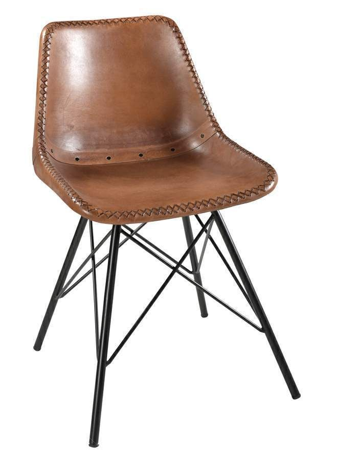 industrial style furniture. indian industrial style brown leather chairs metal dining chair furniture edh t