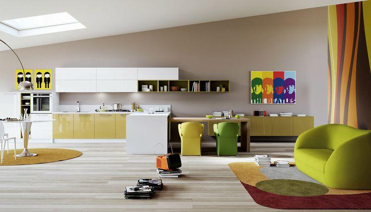 تصميمات المطابخ الحديثة,1-Contemporary-dining-chairs,