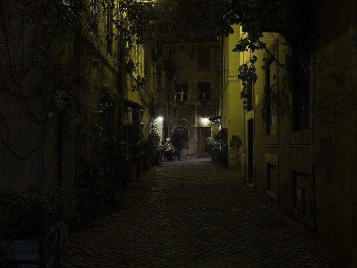 https://flic.kr/p/BfNCya | An evening in Trastevere