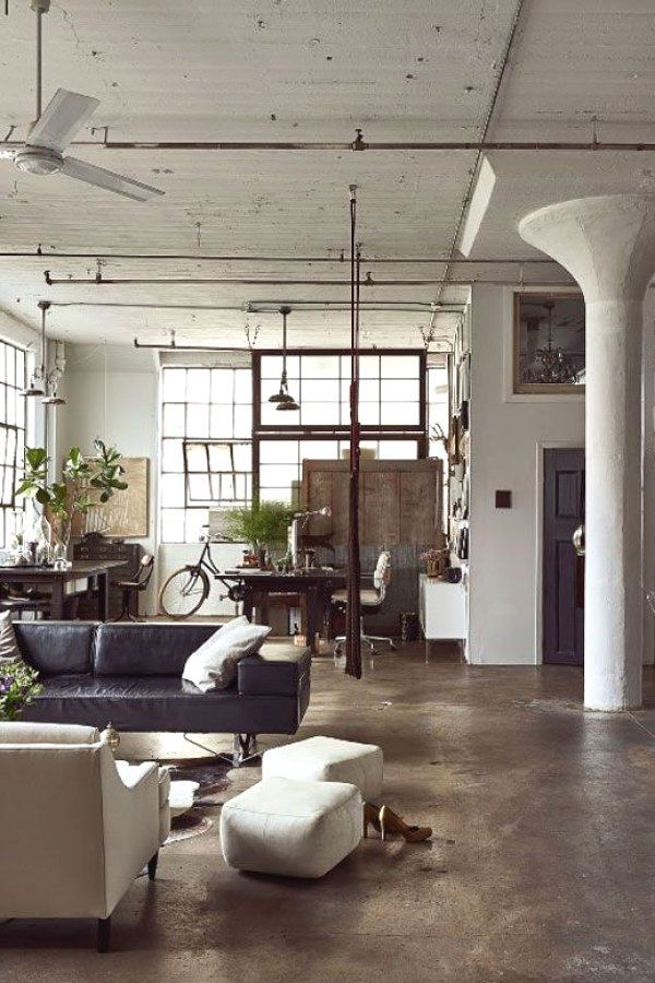 Pin By Estela Espinho Paiva On Decoracao Industrial Design Furniture Vintage Industrial Furniture Loft Style Apartments