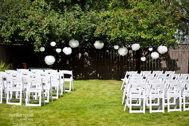 Wedding | Backyard Wedding Ceremonies, Backyard Weddings and Backyards