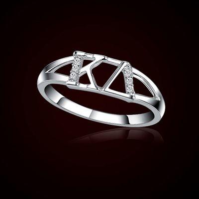 Kappa Delta Sorority Rings $39.95 #Sorority #Greek #KD #KappaDelta #Jewelry