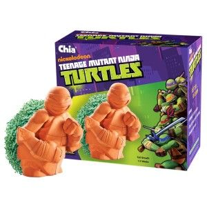 Chia Teenage Mutant Ninja Turtles Planter The Teenage Mutant Ninja Turtle is the coolest Chai for a boy's room. It will cowabunga him to hero status among his friends. It comes with planting and care instructions.  http://awsomegadgetsandtoysforgirlsandboys.com/creative-easter-basket-ideas/ Chia Teenage Mutant Ninja Turtles Planter