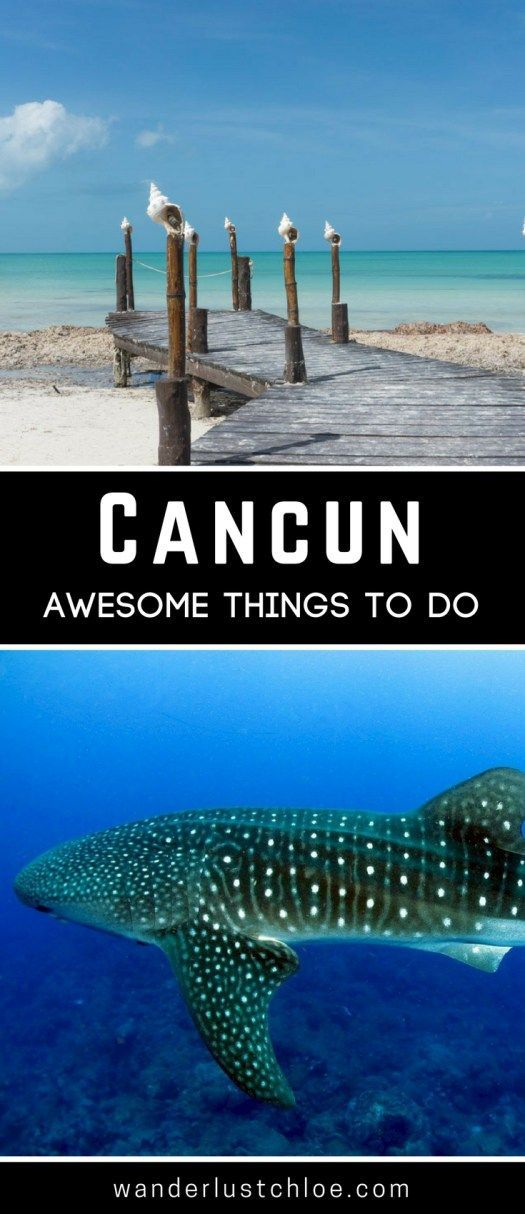 Cancun, Mexico - Awesome Things To Do On Holiday. From Caribbean beach days, to feasting on tacos, exploring the ancient Mayan ruins and partying in the city, it's time to discover everything a Cancun holiday has to offer! | #cancun #mexico #travel #wanderlust #yucatan #cenote #playadelcarmen #holbox #mujeres #beach